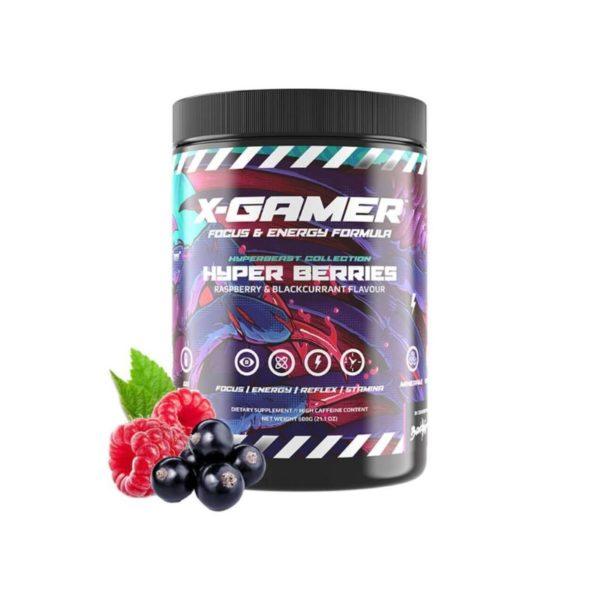 x gamer x tubz hyper berries 600g 60 servings energy drink a