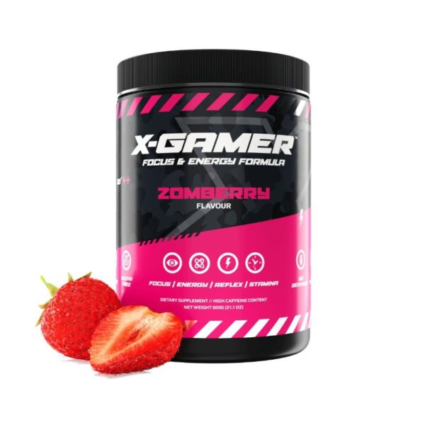 x gamer zomberry 600g energy drink a