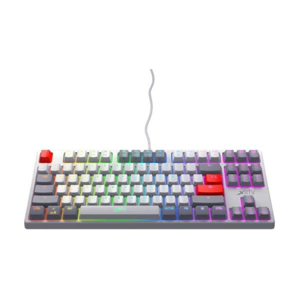 xtrfy k4 tkl rgb mechanical gaming keyboard retro a