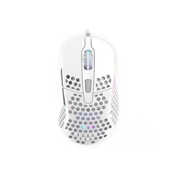 xtrfy m4 rgb ultra light gaming mouse white a