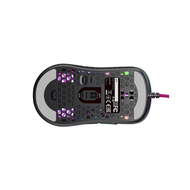 xtrfy m42 rgb ultra light gaming mouse pink b