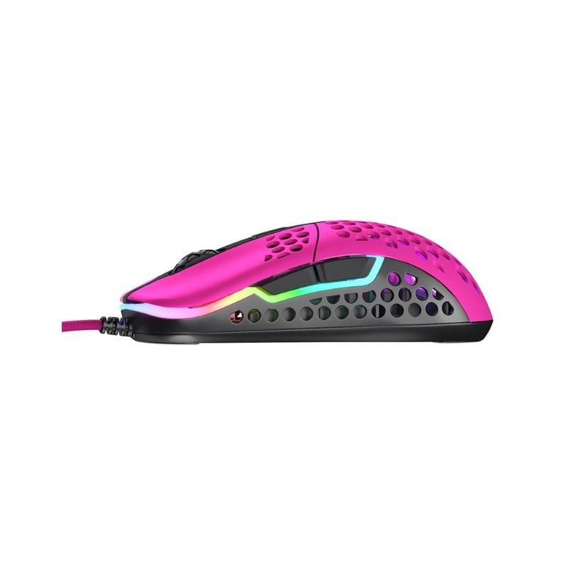 xtrfy m42 rgb ultra light gaming mouse pink e